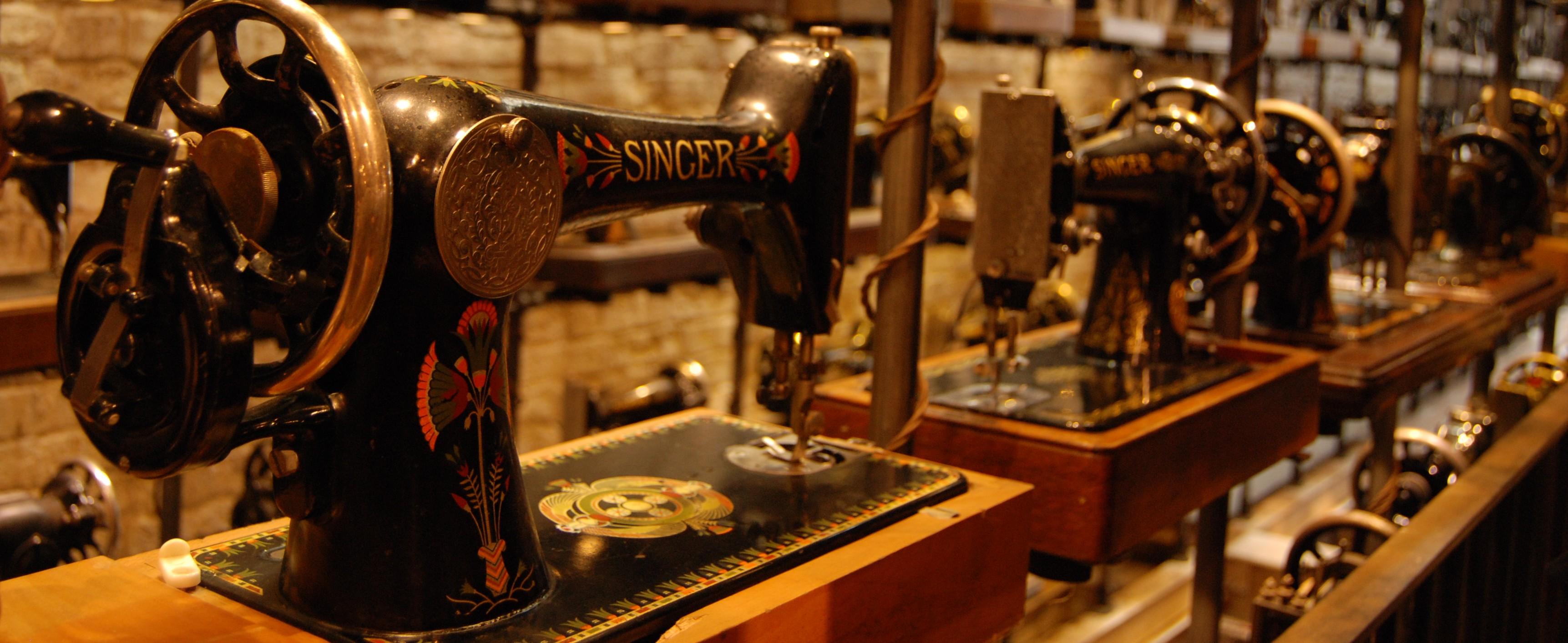 sewing machine by artcave.eu