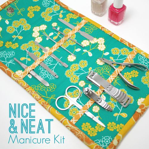 Easy tutorial for a manicure kit.