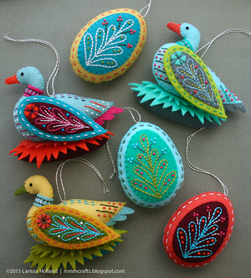 birds ornaments